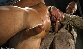 BoundGods - Mike Maverick & Dirk Caber – Lazy Soldier Gets Humiliated, Punished, Fucked