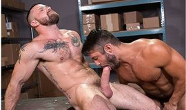 RagingStallion: Seth Santoro rides Sergeant Miles' thick dick in 24 Hour Boner