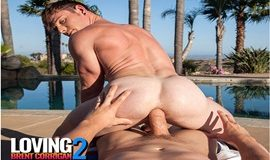 NakedSword Originals: JJ Knight creampies Brent Corrigan in Loving Brent Corrigan - Episode 2