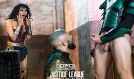 Super Gay Hero – Justice League – A Gay XXX Parody Part 2 – Colby Keller & Francois Sagat