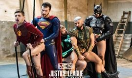 SuperGayHero – Justice League: A Gay XXX Parody 4 – Brandon Cody, Johnny Rapid, Colby Keller, Ryan Bones & François Sagat