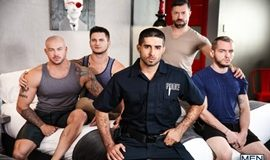 Fugitives - Part 3 - Diego Sans, Tristan Jaxx, Allan Lucas, Colton Grey and Sean Duran