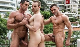 LucasEntertainment - Fit As Fuck - Nick Capra, Manuel Skye and Jackson Radiz
