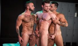 RagingStallion - Clothing Optional - Fernando del Rio, Arad Winwin and Kurtis Wolfe