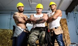 Men at Work - Jason Vario, William Seed, Morgan Blake, Thyle Knoxx and Joey Mentana