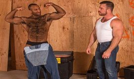 TitanMen: Liam Knox and Daymin Voss flip fuck in Beef