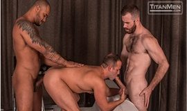 TitanMen: Jason Vario and Matthew Bosch spit roast Luke Adams in West Texas Park & Ride