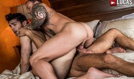 LucasEntertainment - Daddy's Play Thing, Scene 2 - Dylan James And Manuel Skye Double-Team Ben Batemen