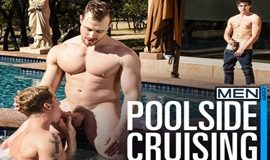 Poolside Cruising – Blake Hunter, Justin Matthews & Will Braun fuck each other