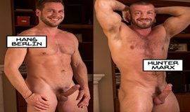 TitanMen – Dick Danger 2 – Muscle daddies Hunter Marx & Hans Berlin flip fuck