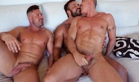 RoganRichards – House Fuck Part 3 – Rogan Richards, Gabriel Lunna & Marc Ferrer