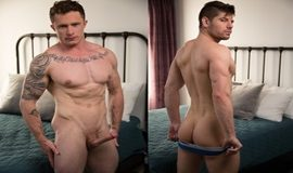 Gay Bareback - Markie More & Connor Halsted