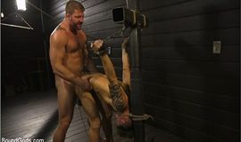 Fuck toy Casey Everett gets used by beefcake Colby Jansen