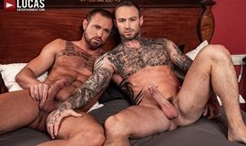 Dylan James And Michael Roman - Gay Bareback Flip-Fuck