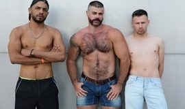 Ericvideos – Jose, Philippe & Tahar – A full day – Part 1