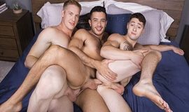 Jax, Manny & Lane - Gay Bareback