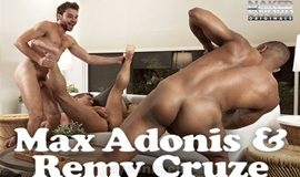 Breaking Mr. Hart – Remy Cruze and Max Adonis flip fuck bareback