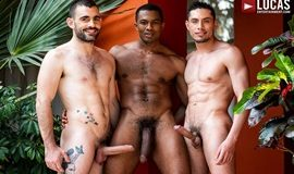 Max Arion, Sean Xavier & Ashton Labruce - Gay Bareback