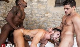 Bareback Threesome – Rico Marlon, Pheonix Fellington & Andy Star