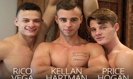 Kellan Hartmann, Price Hogan and Rico Vega Hook Up