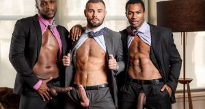 Gentlemen 24: Man-On-Man Merger, Scene One -Sean Xavier, Andre Donovan and Jeffrey Lloyd