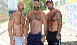 Ericvideos – Jeremy, Aymeric & Jose – Taken by two guys in a basement