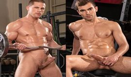 XXX-Fit – Roman Todd rides Alexander Muller's thick cock