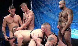 RawFuckClub – Aiden Hart Gang Bang Part 1