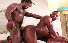 The Fuck House Part 3 – Thick and Sexyy: Chino Blacc and Krave