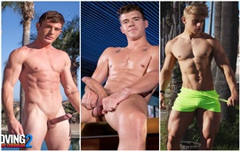 Alam Wernik comeu o cu do Brent Corrigan com JJ Knight - Only Fans