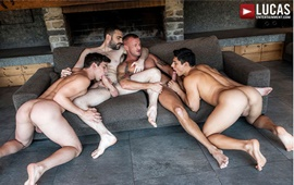 Daddies & Bros Raw – Logan Rogue & Max Arion fuck Dakota Payne & Ken Summers