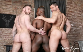 Born For Porn – Kris de Fabio, Ridder Rivera & Manuel Scalco