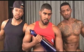 DawgPoundUSA - Big Dick Triple Threat - Izzy, XL e Rio
