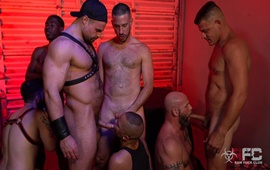 RawFuckClub – Sean Harding Gang Bang Part 1