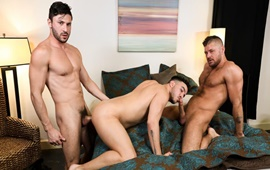 Two Cocks Are Better Than One – Scott DeMarco, Jack Andy & Alessio Vega