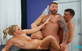 The Deluxe Package – Lance Hart, Colby Jansen & Lisey Sweet