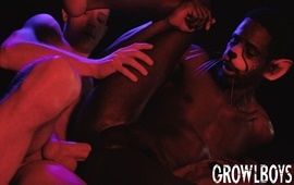 GrowlBoys – Big Cat Chapter 1 – Freak Juice
