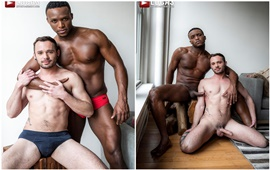 Drake Rogers Rides Andre Donovan's Cock