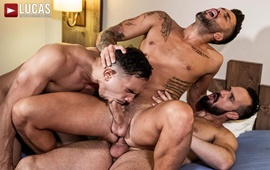 Andrea Suarez, Andy Onassis & J Anders - Uncut Raw Fucking