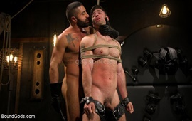 BoundGods – The Captive Boy: Lucas Leon submits to Sharok