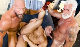 Jaxx Thanatos, Jake Marshall & AJ Marshall - Muscle Daddy Bears
