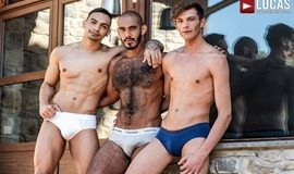 Braxton Boyd And Louis Ricaute Double-Penetrate J Anders