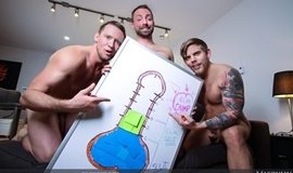 Jeremy London, Pierce Paris & Steve Rickz - The Cum Dump Part 2