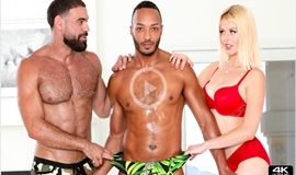 Charley Chaplin, Ricky Larkin & Dillon Diaz - Two Perfect Muscular Studs - Bissexual