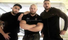 EricVideos - Dimitri Venum, Marco Napoli & Mathieu Ferhati – Tourist lost in Paris finds 2 cocks