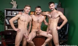 An Acrobatic Threesome – Johnny Rapid, Mason Lear & Tom Bentley