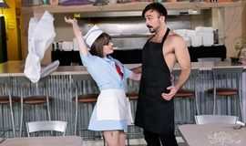 Big Tip For The Waitress – Claire Tenebrarum, Mason Lear - Mulher Trans