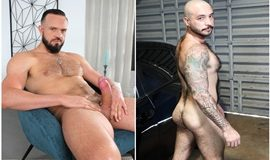 Andy Onassis torando o cu do peludo Julian Torres - Only Fans