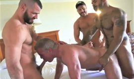 TimFuck – 4-way Fuck – Chase Parker, Dale Savage, Atlas Grant, Jake Morgan