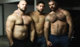 Ericvideos – Fucked in a parking lot – Andre Madd, Dimitri Venum & Jose